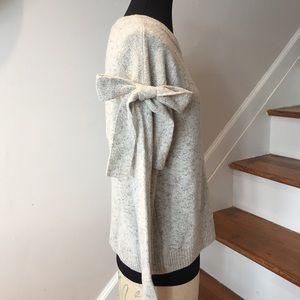 NWT Ann Taylor Bow Sleeve Sweater